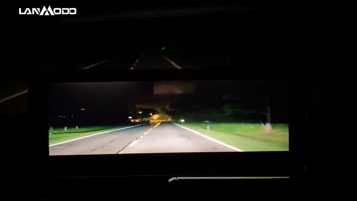 la cámara de conducción para visión nocturna