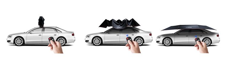 sombrilla automatica plegable lanmodo para coche