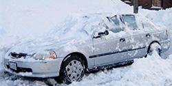 Los fluidos se espesan cuando el auto está expuesto a las nevadas