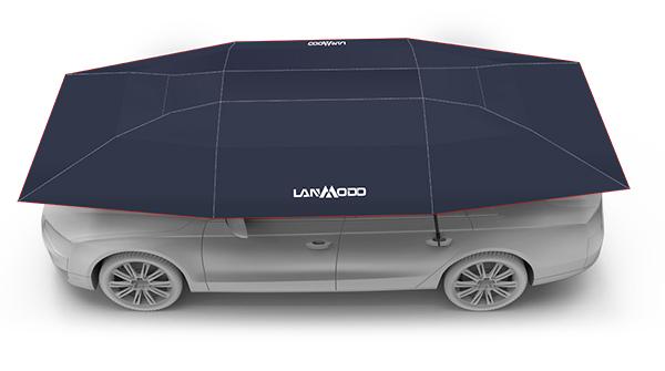 Carpa para autos semiautomática Lanmodo Pro para 4 Estaciones