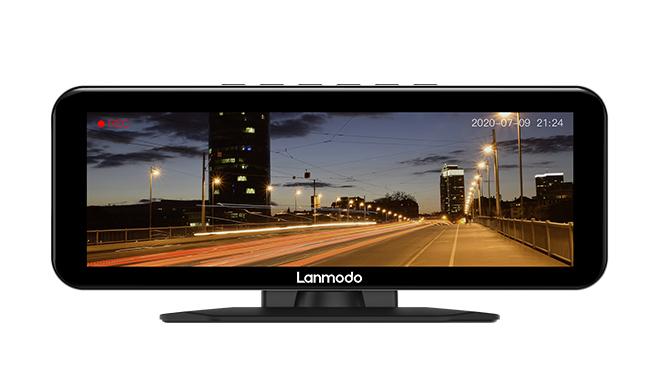 Lanmodo Vast Pro — Visión nocturna con cámara para tablero